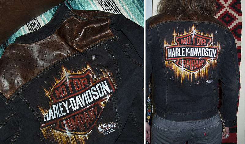 burnmethod, burn, method, denim, leather, biker, jacket, diamond, plate, vintage, flame, fire, harley, davidson, motorcycle